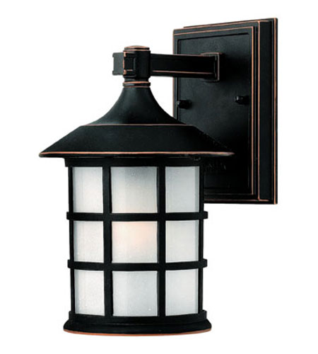 Hinkley Lighting Freeport 1 Light Outdoor Wall Lantern in Olde Penny 1800OP-ESDS