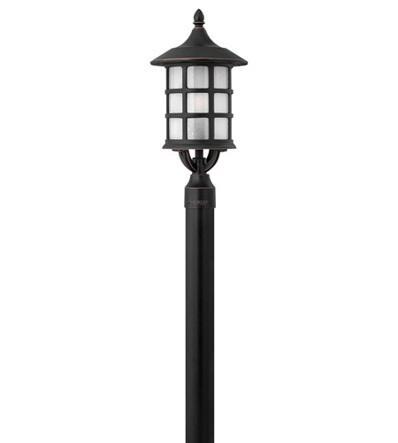 Hinkley Lighting Freeport 1 Light GU24 CFL Post Lantern (Post Sold Separately) in Olde Penny 1801OP-GU24