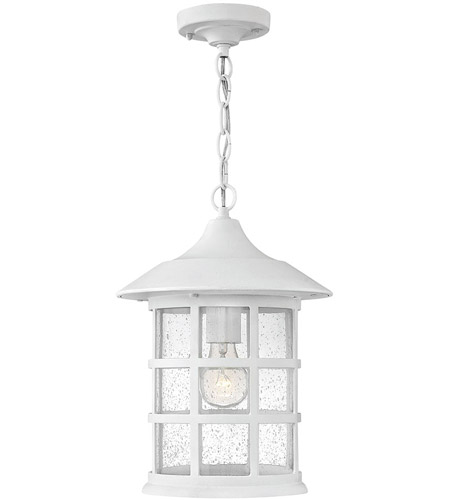 Hinkley 1802cw Led Freeport 10 Inch Clic White Outdoor Hanging Light