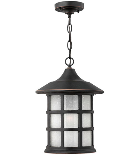 Hinkley Lighting Freeport 1 Light Outdoor Hanging Lantern in Olde Penny 1802OP-LED photo