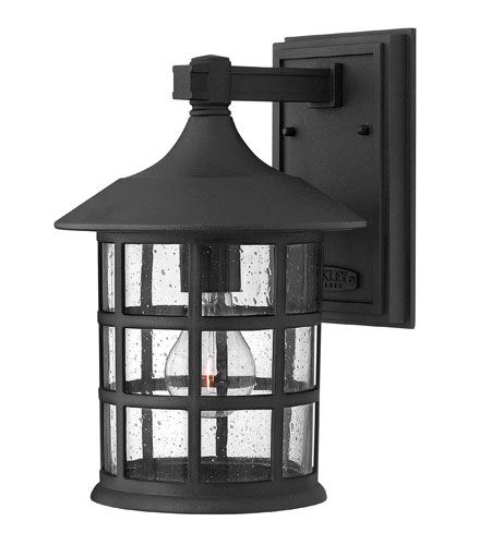 Hinkley Lighting Freeport 1 Light Outdoor Wall Mount in Black 1804BK-ESDS
