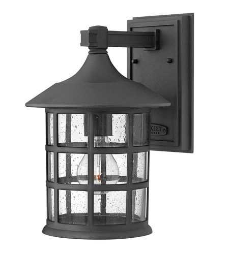 Hinkley Lighting Freeport 1 Light GU24 CFL Outdoor Wall in Black 1804BK-GU24 photo