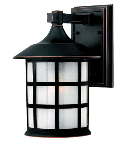 Hinkley Lighting Freeport 1 Light Outdoor Wall Lantern in Olde Penny 1804OP-ES photo