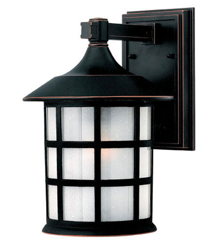 Hinkley Lighting Freeport 1 Light Outdoor Wall Lantern in Olde Penny 1804OP-ESDS