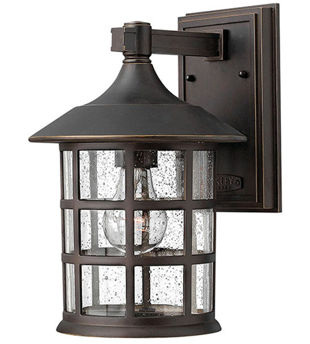 Hinkley Lighting Freeport 1 Light Outdoor Wall Lantern in Oil Rubbed Bronze 1804OZ photo