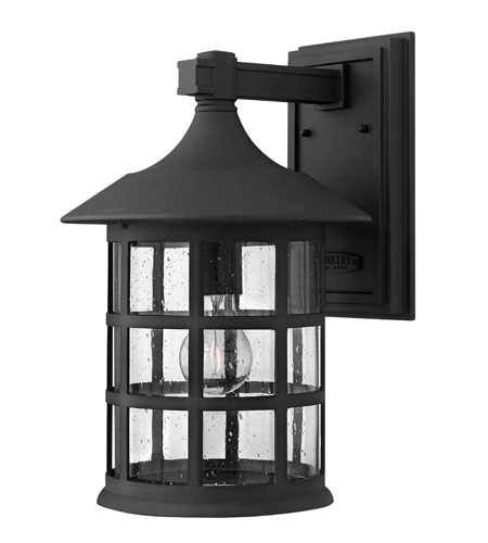 Hinkley Lighting Freeport 1 Light Outdoor Wall Mount in Black 1805BK-ES photo