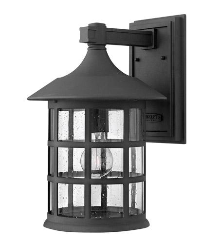 Hinkley Lighting Freeport 1 Light GU24 CFL Outdoor Wall in Black 1805BK-GU24