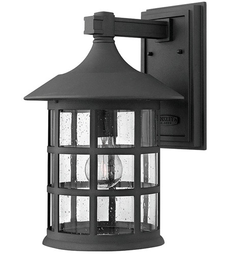 Hinkley Lighting Freeport 1 Light Outdoor Wall Mount in Black 1805BK-LED