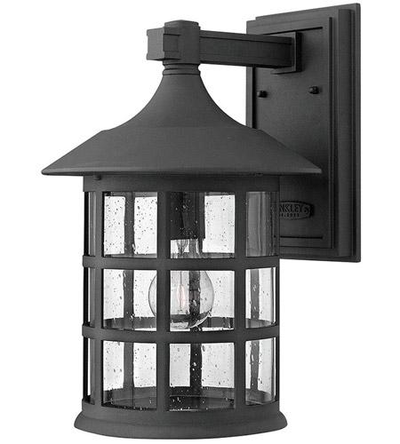 Hinkley Lighting Freeport 1 Light Outdoor Wall Mount in Black 1805BK-LED