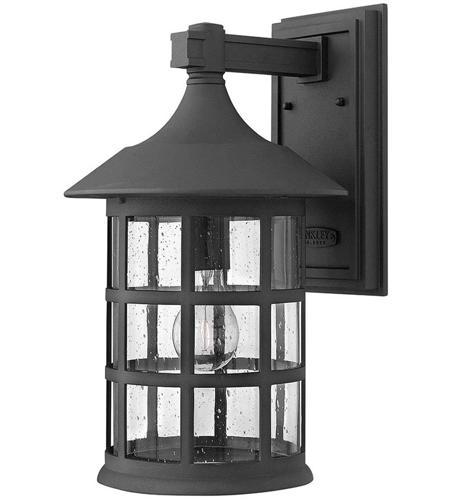 Hinkley Lighting Freeport 1 Light Outdoor Wall Mount in Black 1805BK