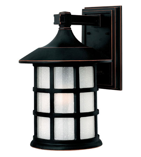 Hinkley Lighting Freeport 1 Light Outdoor Wall Lantern in Olde Penny 1805OP-DS