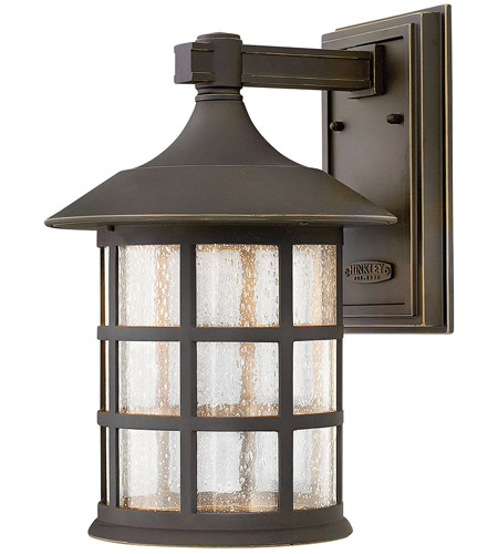 Hinkley Lighting Freeport 1 Light Outdoor Wall Lantern in Oil Rubbed Bronze 1805OZ-LED