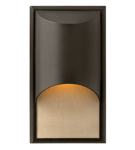 Hinkley Lighting Cascade 1 Light Outdoor Wall Lantern in Bronze 1830BZ-ES
