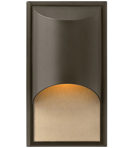 Hinkley Lighting Cascade 1 Light Outdoor Wall Lantern in Bronze 1830BZ-LED