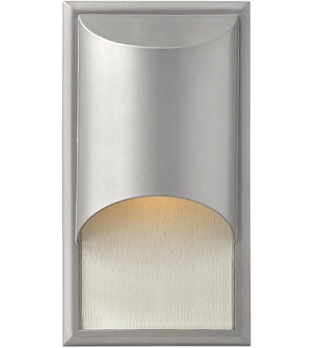 Hinkley Lighting Cascade 1 Light Outdoor Wall Lantern in Titanium 1830TT