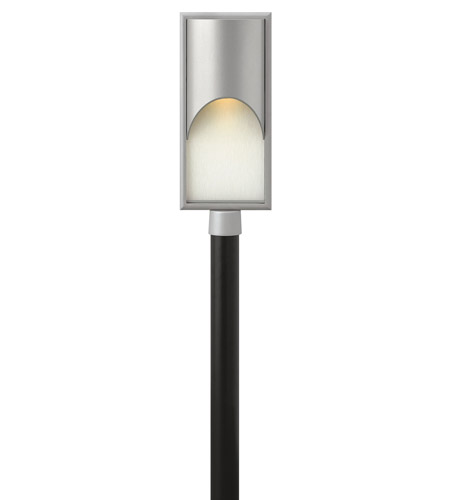 Hinkley Lighting Cascade 1 Light LED Post Lantern (Post Sold Separately) in Titanium 1831TT-LED