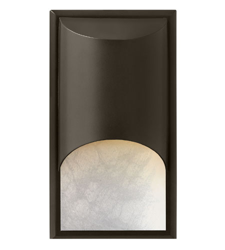 Hinkley Lighting Cascade 1 Light GU24 CFL Outdoor Wall in Bronze 1832BZ-GU24