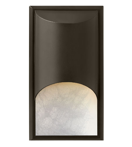 Hinkley 1832BZ-LED Cascade LED 15 inch Bronze Outdoor Wall Mount, Alabaster Glass photo