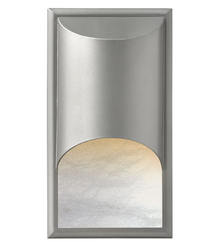 Hinkley Lighting Cascade 1 Light GU24 CFL Outdoor Wall in Titanium 1832TT-GU24