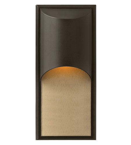 Hinkley Lighting Cascade 1 Light GU24 CFL Outdoor Wall in Bronze 1834BZ-GU24