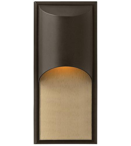 Hinkley Lighting Cascade 1 Light Outdoor Wall Lantern in Bronze 1834BZ-LED