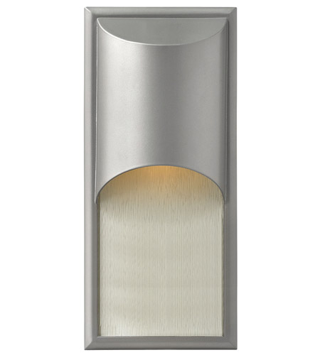 Hinkley Lighting Cascade 1 Light GU24 CFL Outdoor Wall in Titanium 1834TT-GU24 photo