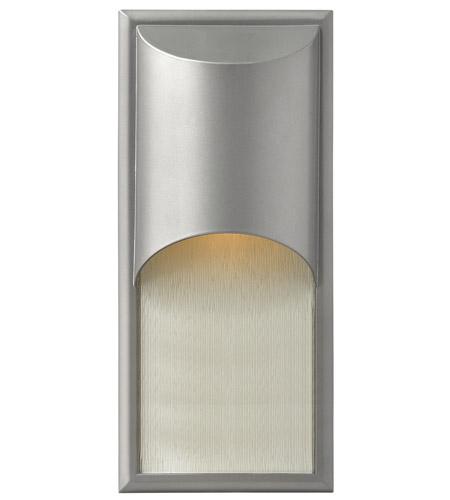 Hinkley Lighting Cascade 1 Light GU24 CFL Outdoor Wall in Titanium 1834TT-GU24