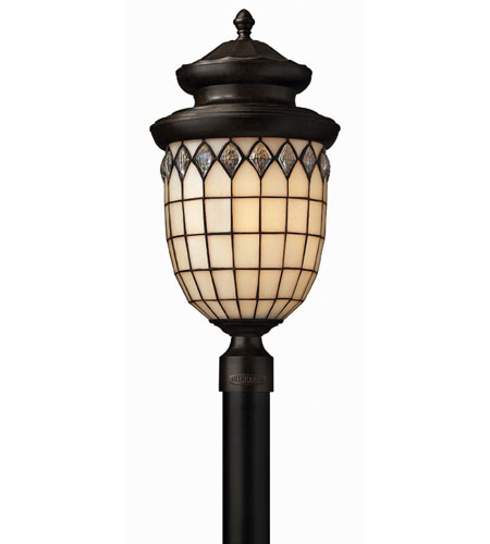 Hinkley Lighting Innsbruck 1 Light Post Lantern (Post Sold Separately) in Regency Bronze 1861RB-ES