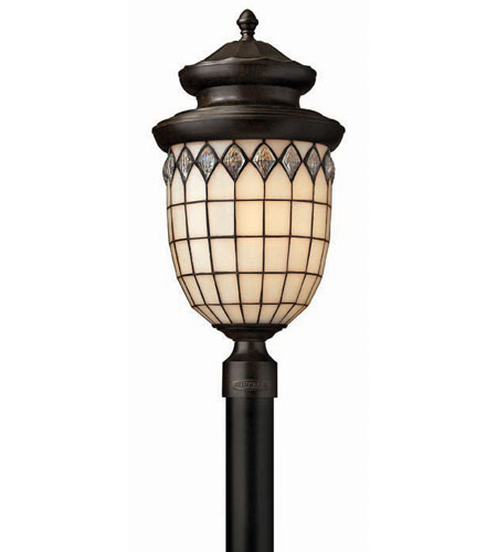 Hinkley Lighting Innsbruck 1 Light Post Lantern (Post Sold Separately) in Regency Bronze 1861RB