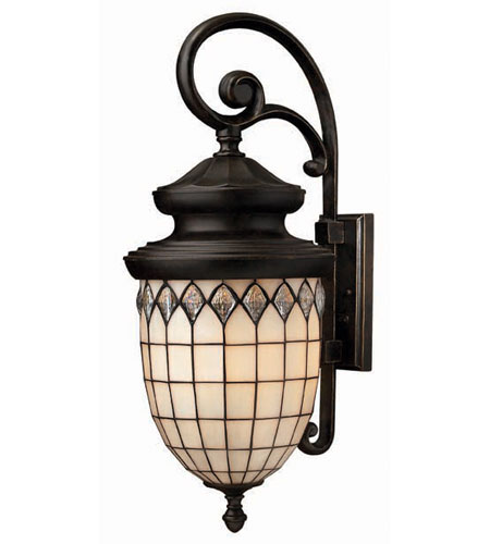 Hinkley Lighting Innsbruck 4 Light Outdoor Wall Lantern in Regency Bronze 1865RB