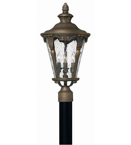 Hinkley Rotterdam 4 Light X Large Post Lantern (Post Sold Separately) in Pearl Bronze 1871PZ photo