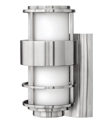 Hinkley Lighting Saturn 1 Light GU24 CFL Outdoor Wall in Stainless Steel 1900SS-GU24