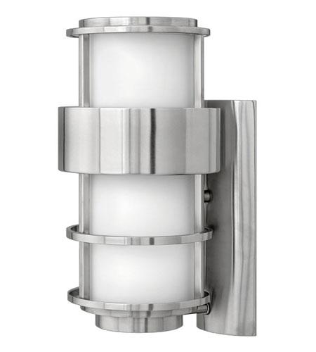 Hinkley Lighting Saturn 1 Light Outdoor Wall Lantern in Stainless Steel 1904SS-ES