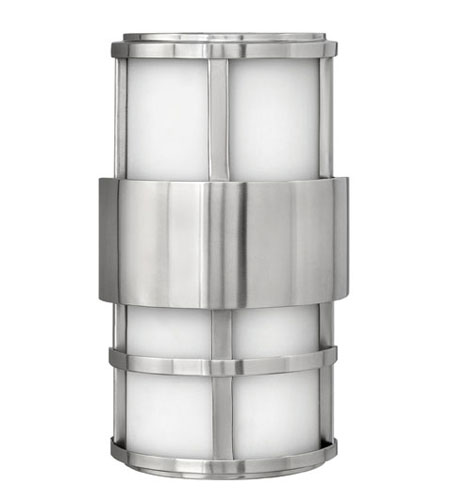Hinkley Lighting Saturn 2 Light Outdoor Wall Lantern in Stainless Steel 1908SS-EST