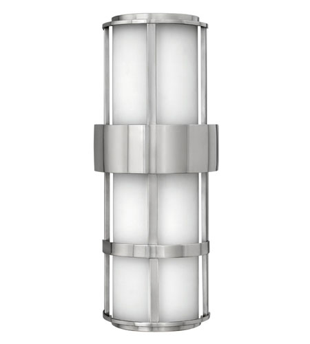 Hinkley Lighting Saturn 2 Light Outdoor Wall Lantern in Stainless Steel 1909SS-ES photo