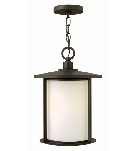 Hinkley Lighting Hudson 1 Light Outdoor Hanger in Oil Rubbed Bronze 1912OZ-GU24