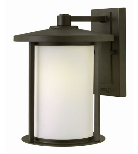 Hinkley 1914OZ-GU24 Hudson 1 Light 12 inch Oil Rubbed Bronze Outdoor Wall in GU24 photo