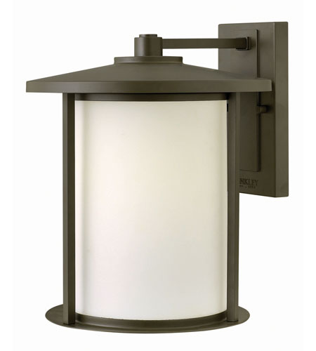 Hinkley Lighting Hudson 1 Light Outdoor Wall in Oil Rubbed Bronze 1915OZ-GU24 photo