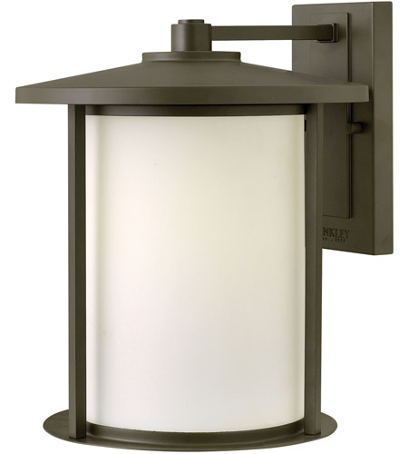 Hinkley 1915OZ Hudson 1 Light 14 inch Oil Rubbed Bronze Outdoor Wall in Incandescent photo