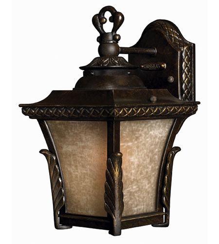 Hinkley Lighting Brynmar 1 Light Outdoor Wall Lantern in Regency Bronze 1930RB-DS
