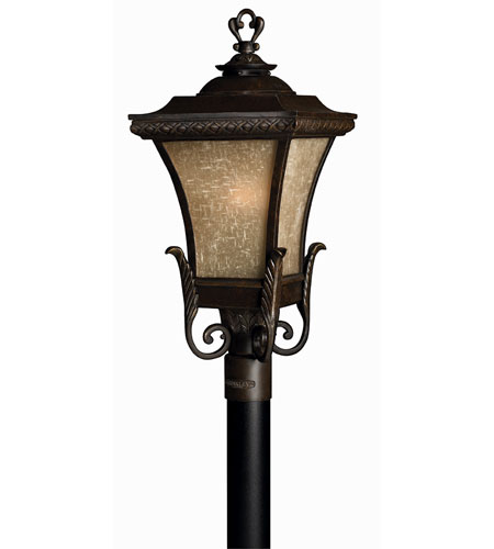 Hinkley Lighting Brynmar 1 Light Post Lantern (Post Sold Separately) in Regency Bronze 1931RB-ES
