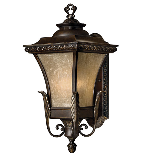 Hinkley Lighting Brynmar 1 Light GU24 CFL Outdoor Wall in Regency Bronze 1934RB-GU24