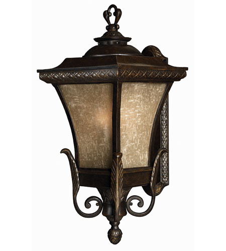 Hinkley Lighting Brynmar 1 Light Outdoor Wall Lantern in Regency Bronze 1935RB-ES