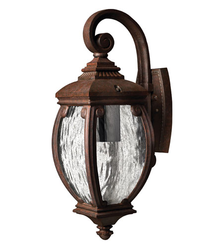 Hinkley Lighting Forum 1 Light Outdoor Wall Lantern in French Bronze 1940FZ-DS photo