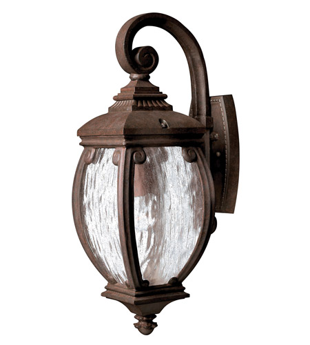 Hinkley 1940FZ Forum 1 Light 21 inch French Bronze Outdoor Wall Lantern photo