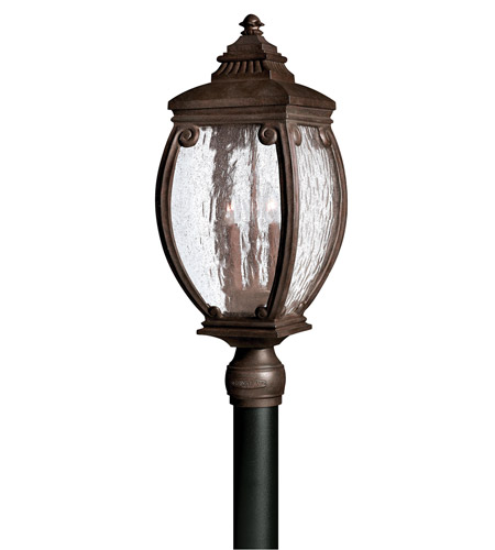Hinkley 1941FZ Forum 3 Light 24 inch French Bronze Post Lantern, Post Sold Separately photo