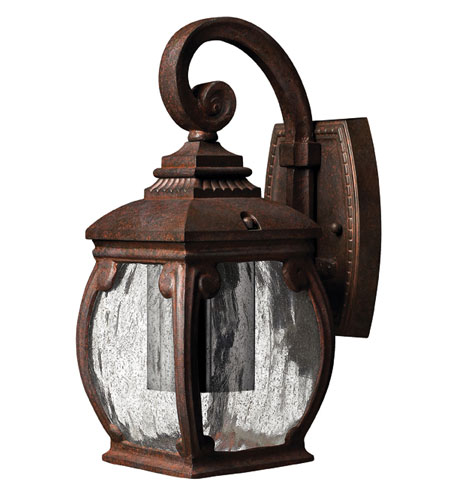 Hinkley Lighting Forum 1 Light Outdoor Wall Lantern in French Bronze 1946FZ-ESDS