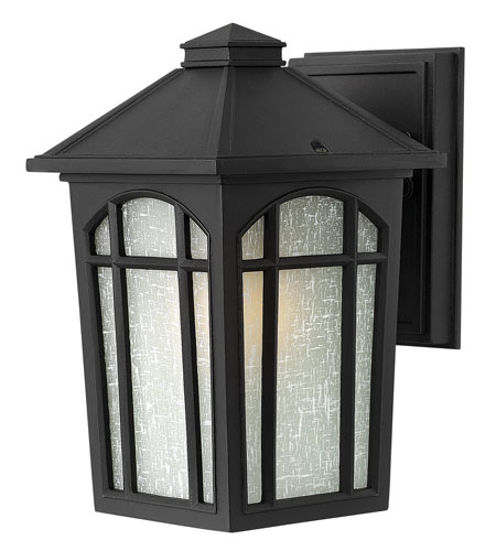 Hinkley Lighting Cedar Hill 1 Light Energy Star & Dark Sky Outdoor Wall Lantern in Black 1980BK-ESDS photo