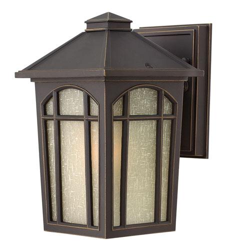 Hinkley Lighting Cedar Hill 1 Light Dark Sky Outdoor Wall Lantern in Oil Rubbed Bronze 1980OZ-DS
