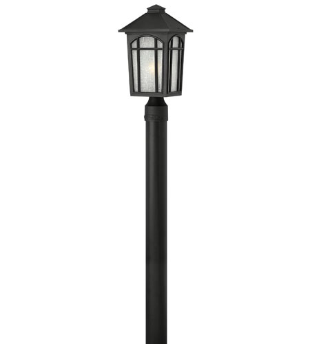 Hinkley Lighting Cedar Hill 1 Light Energy Star Post Lantern (Post Sold Separately) in Black 1981BK-ES photo